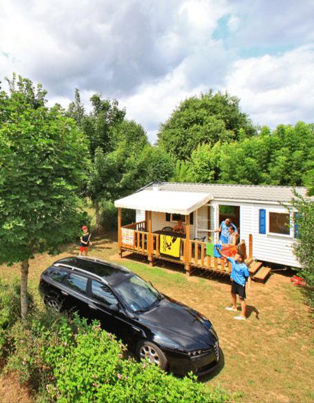 Séjour en mobil home en Dordogne