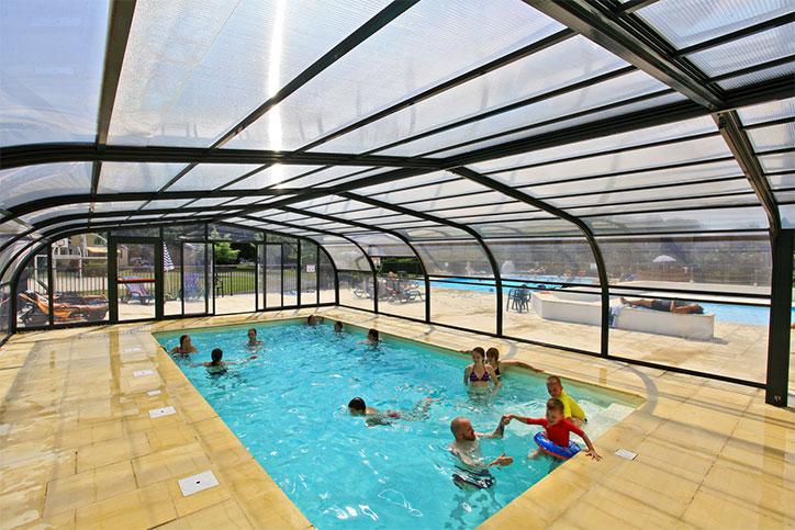 Un camping en Dordogne avec piscine couverte et chauffée