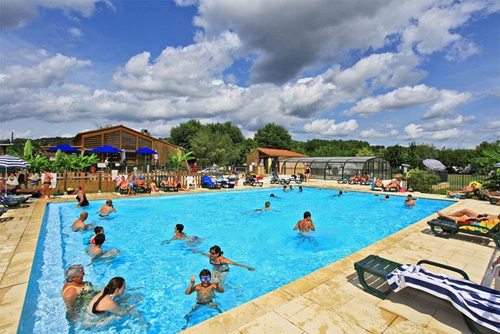 Camping avec parc aquatique en Dordogne