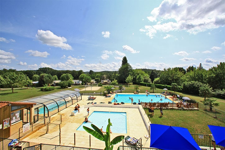 Camping proche Sarlat avec piscine