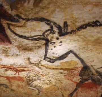 Détails de peinture de la Grotte de Lascaux