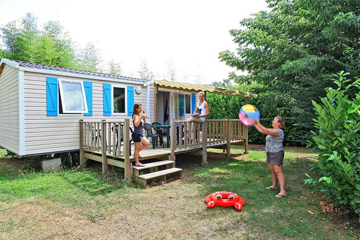 Camping en Dordogne avec mobil-homes